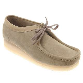 Clarks Wallabee  Womens   Sand Suede   FREE SHIPPING at OnlineShoes