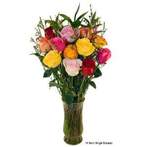 Valentines Day Long Stem Roses   23 Long   Mixed Colors   12 or 24