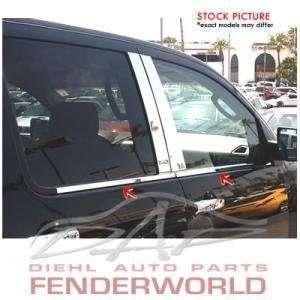 CHEVY SILVERADO GMC SIERRA 07 08 STEEL WINDOW SILL TRIM