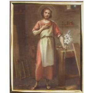com Saint Joseph Framed Art, 8 x 10   MADE IN ITALY Home & Kitchen