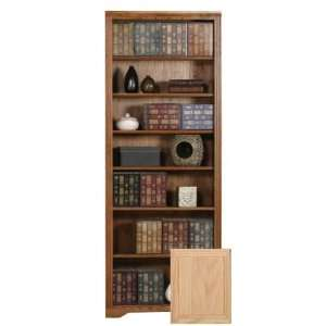 Coastal 93384NGUN Coastal Oak Ridge 84 Open Bookcase