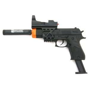 Spring Colt 1911 Pistol FPS 200, Silencer, Scope Airsoft