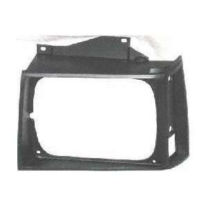 83 90 GMC JIMMY S15 s 15 HEADLIGHT DOOR LH (DRIVER SIDE) SUV, Black