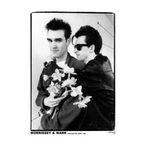 SMITHS Morrissey & Marr Manchester April 1983 Music Poster