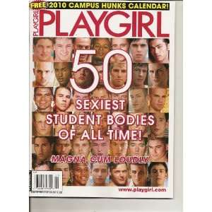 Playgirl Magazine (Campus Hunks, 2010): Various: Books