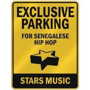 FOR SENEGALESE HIP HOP STARS  PARKING SIGN MUSIC