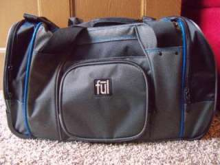 ful Rolling Duffel Bag   21   Wheeled Carry On Luggage   Grey and