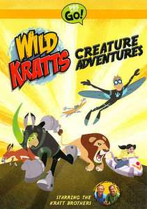 Wild Kratts Creature Adventures DVD, 2011, 2 Disc Set