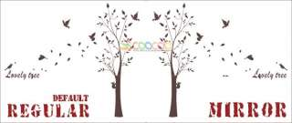 Wall Decor Decal Sticker Removable vinyl large tree 74