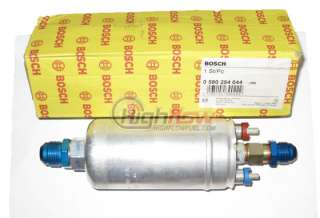 Bosch 0580254044 Inline Fuel Pump With AN Fittings
