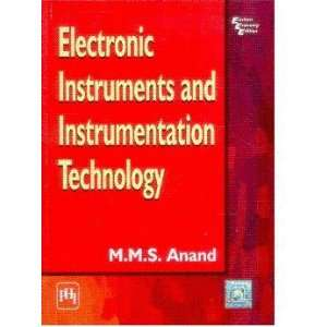 and Instrumentation Technology (9788120324541): A Anand: Books