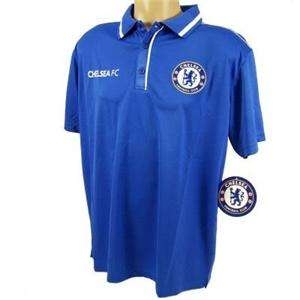 Chelsea FC Football Soccer Champions League Jersey Polo ALL SIZES
