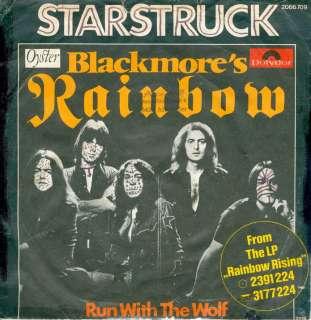 Single RAINBOW   Starstruck (1976) GERMANY PS / RONNIE JAMES DIO