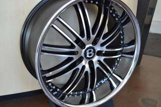 22 BENTLEY WHEELS/RIM+TIRES CONTINENTAL GT FLYING SPUR