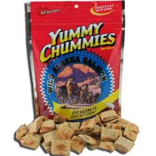 ORIGINAL SALMON YUMMY CHUMMIES dog treats 40oz (2.5 lb)