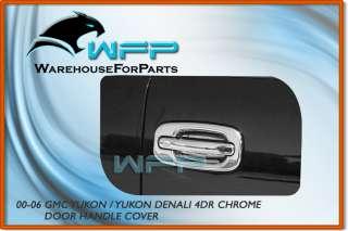 00 01 02 GMC Yukon Denali 4DR Chrome Door Handle Cover