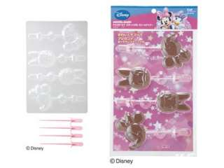 Disney Minnie & Daisy Chocolate Jelly Candy Stick Mold