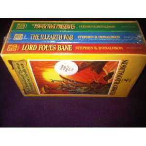 Book One Lord Fouls Bane, Book Two The Illearth War, Book Three