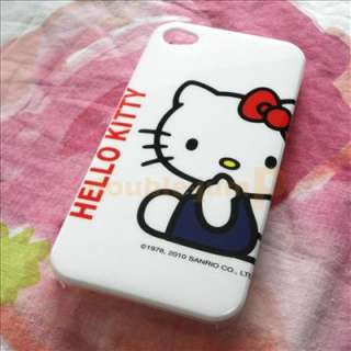Hello Kitty Hard Case Cover For iPhone 4 4G hk28 New