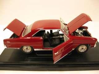 1966 Chevy NOVA SS Diecast 118 Car Model by Ertl American Muscle