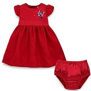 Disney Minnie Mouse Holiday Dress for Infants: Baby