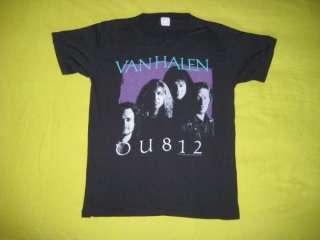 SAN DIEGO 1 DATE ONLY@ VAN HALEN 1988 VTG TOUR T SHIRT