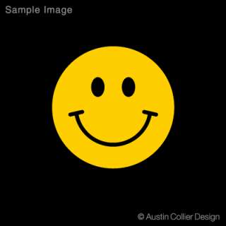 HAPPY FACE Vinyl Decal Car Sticker   Smiley Face