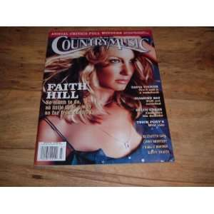 Faith Hill: February/March 2003 Faith Hill. Country Music Magazine