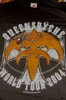 QUEENSRYCHE tour shirt BIKER IRON CROSS 2 sided NEW