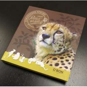 OBon Endangered Species Series Fact Book & Pencil Set