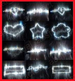 wholesale bridal clear 12Rhinestone hair pins Swarovski