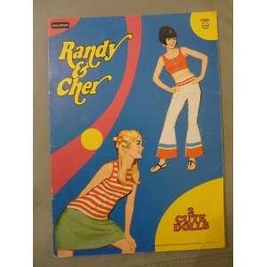 : RANDY & CHER: 2 CUTE DOLLS [PAPERDOLLS]: Rand McNally & Co.: Books