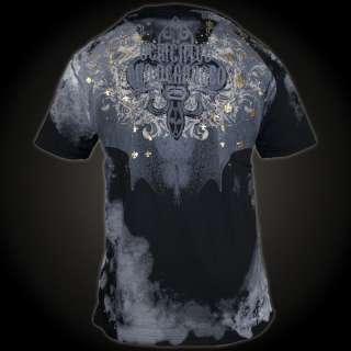 Ecko Unltd. MMA T Shirt Raising Hell 053 SW XL