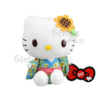 GENUINE Sanrio Hello Kitty 7 Soft Plush Figure Doll Authentic JAPAN