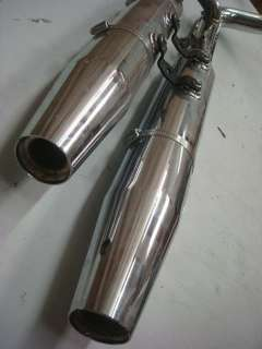 HARLEY SOFTAIL FATBOY HERITAGE STOCK CHROME OEM EXHAUST MUFFLER SYSTEM