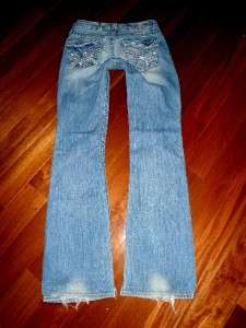 Buckle Big Star Casey K Low Rise Stretch Flap Pkt Bootcut Jeans
