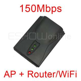 150Mbps Mini WiFi wireless Network LAN Card Adapter Router AP Bridge