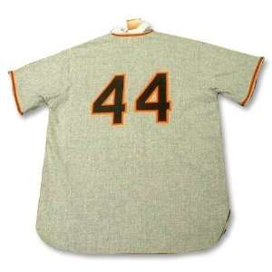 WILLIE McCOVEY San Francisco Giants 1962 MITCHELL & NESS