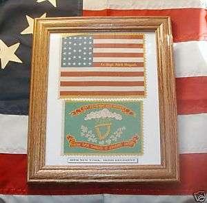 Irish Brigade, 34 Star Civil War Flag Set_69th New York