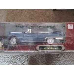 1958 Cadillac Eldorado Biarritz Met Blue 1:18 Scale: Toys