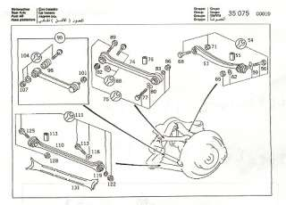 Mercedes Rear Tie Rod 190E 300E E320 C43 E420 SL320 CLK
