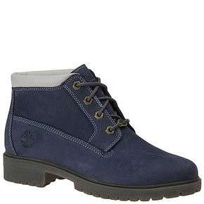 69636 Nellie Chukka Nubuck Leather Work Boots Navy Blue Womens