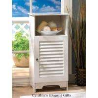 Nantucket Sleek White Wood Home Storage Office, Bedroom, Bathroom