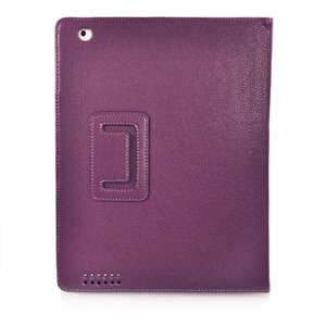 Leather Smart Cover Case with Stand Compatible for Apple iPad 2 Buy 1