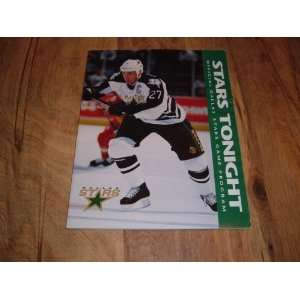 Louis. Dallas Stars Captain on cover of Dallas Stars Tonight Official