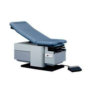 Medline Power High Low Exam Table   Knee crutches and base