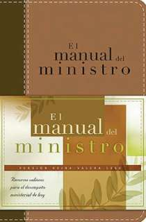 BARNES & NOBLE  El manual del ministro by Grupo Nelson  Hardcover