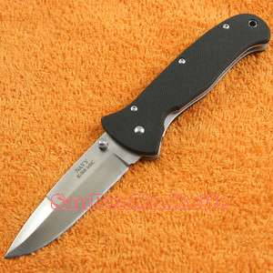 New NAVY 440C Stainless Steel Liner Lock Folding Knife K 508