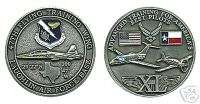 LAUGHLIN TEXAS AFB AIR FORCE 47TH WING CHALLENGE COIN