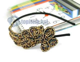 Women Trendy Bling Angel Wing Headband Hair Band